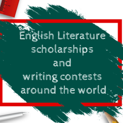 English Literature scholarhships and writing contests