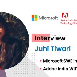 Interview with Adobe India WIT Scholar Juhi Tiwari
