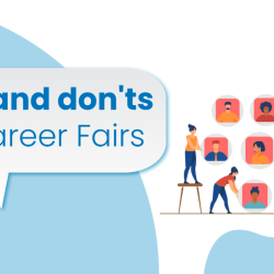 Dos and don'ts at career fairs