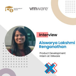 Interview with VMware Product Intern Aishwarya Lakshmi Renganathan