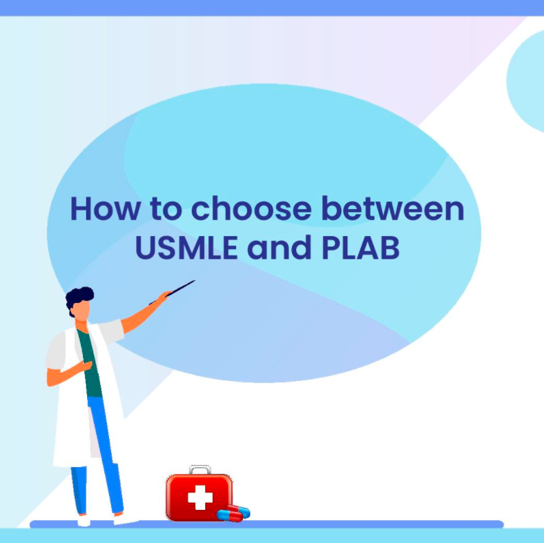 How to choose between USMLE and PLAB