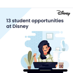 13 student opportunities at Disney