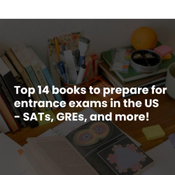 Top 14 books to prepare for US entrance exams