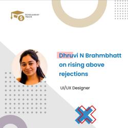 Interview with UI/UX Designer Dhruvi N Brahmbhatt