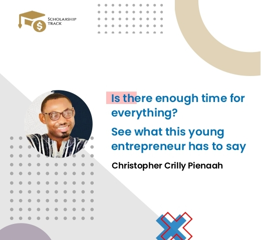 Interview with young entrepreneur Christoher Crilly Pienaah