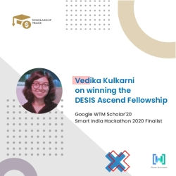 Interview with DESIS Ascend Fellow Vedika Kulkarni